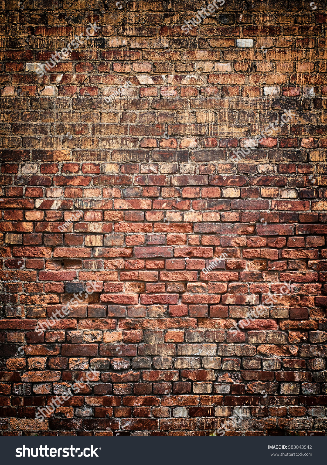Weathered brick wall texture background vintage stock for Wall surface texture