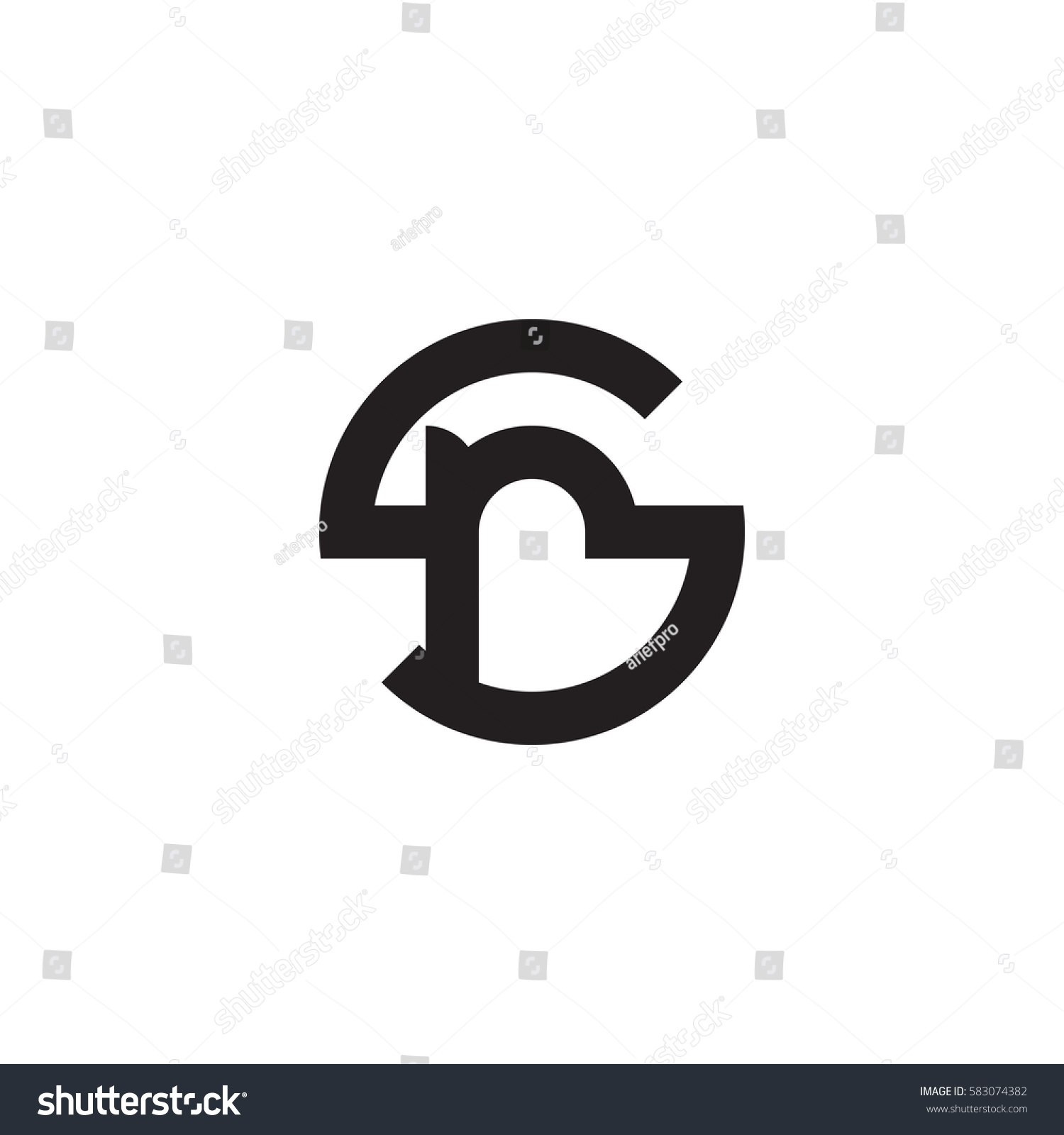 Initial letter logo sr rs r stock vector 583074382 shutterstock initial letter logo sr rs r inside s rounded lowercase black monogram buycottarizona Image collections