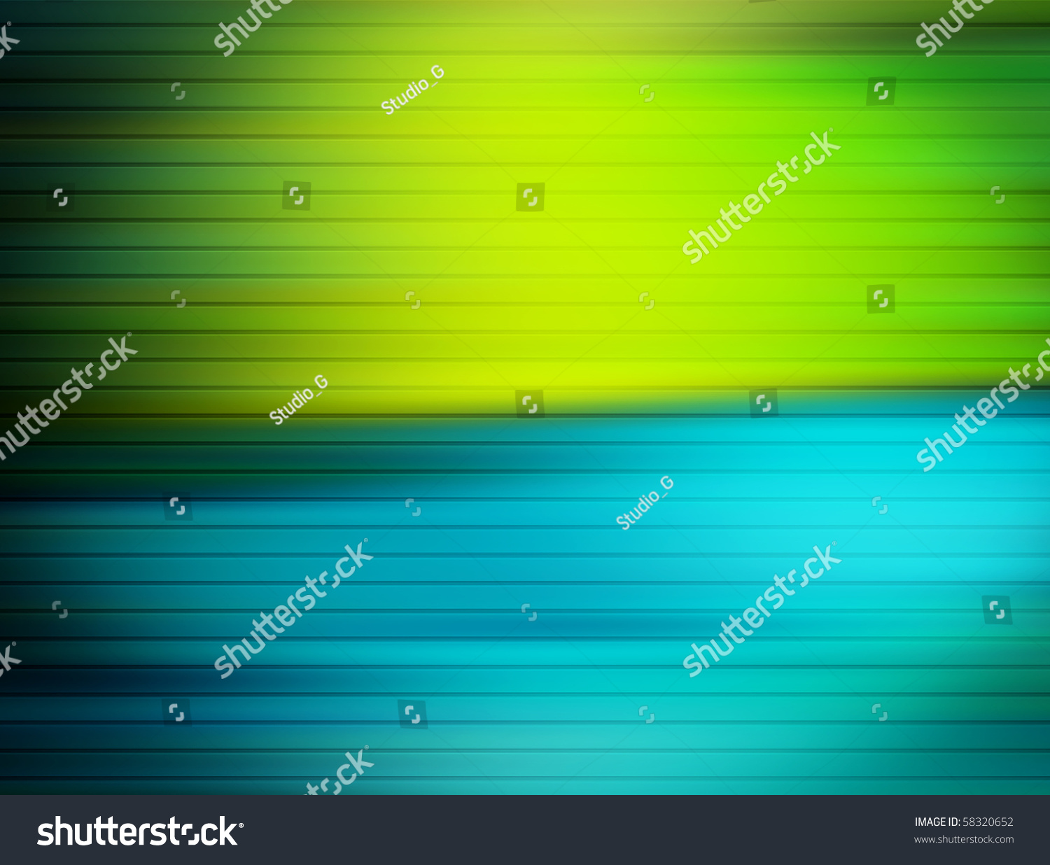 Blue and green contrast background colors illustration - Contrast with green colour ...
