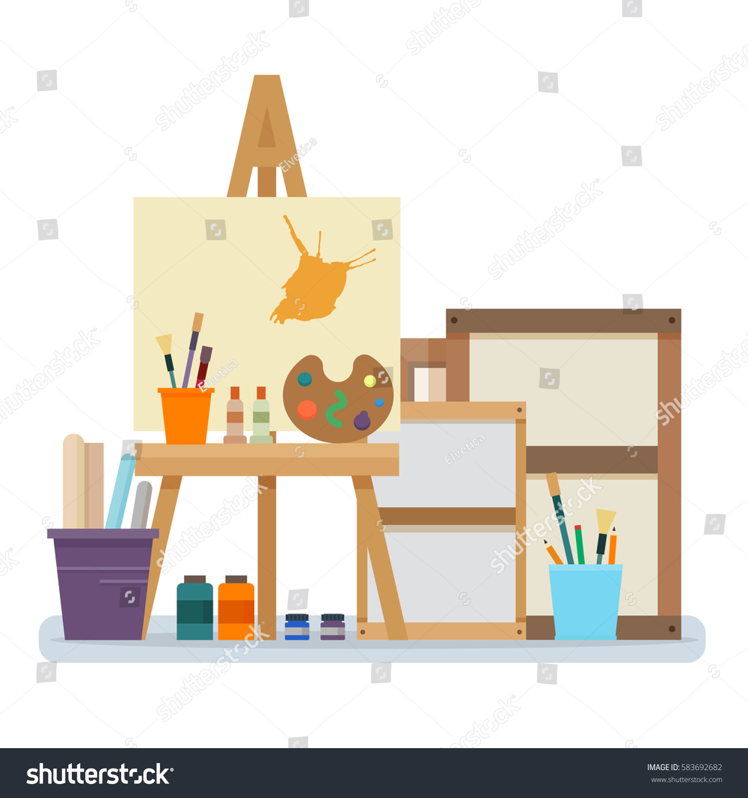 Creativity Art Desk And Easel Create The Perfect Kids Art