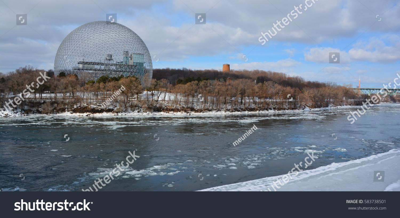 montrealcanada 02 08 2017 biosphere museum stock photo 583738501