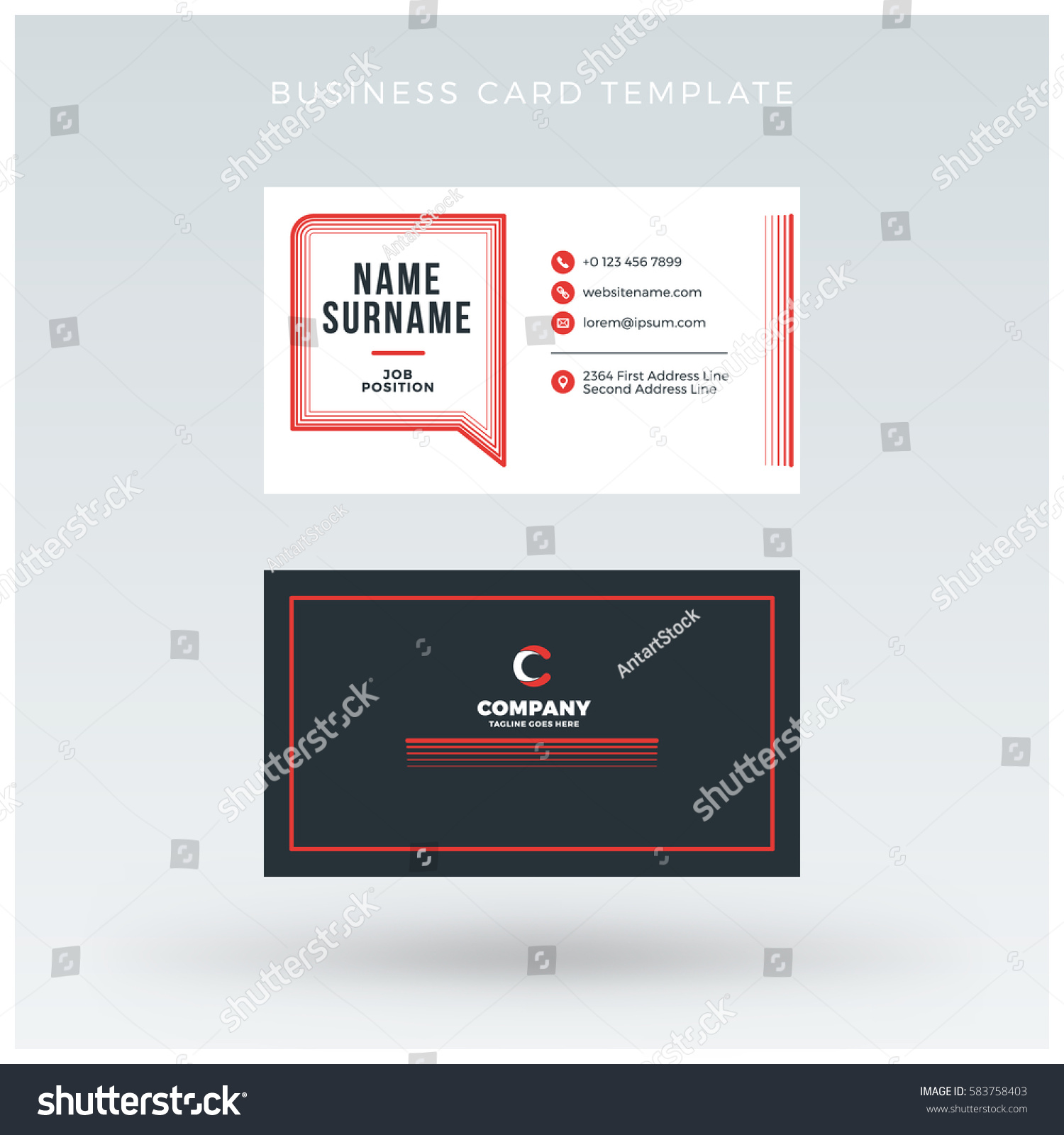 28 2 sided business card template double sided business car 28 double sided business card template illustrator vertical fbccfo Images
