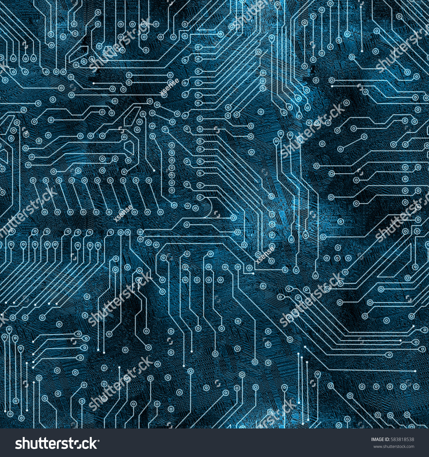 Deep Blue Electronic Circuit Board Background Highresolution Stock Circuitboard Backgroundhigh Resolution Seamless Texture