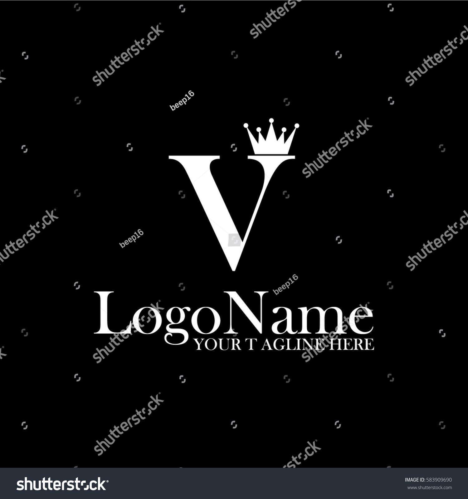 Tj initial luxury ornament monogram logo stock vector - Similar Images To Crown Logo Stock Vector