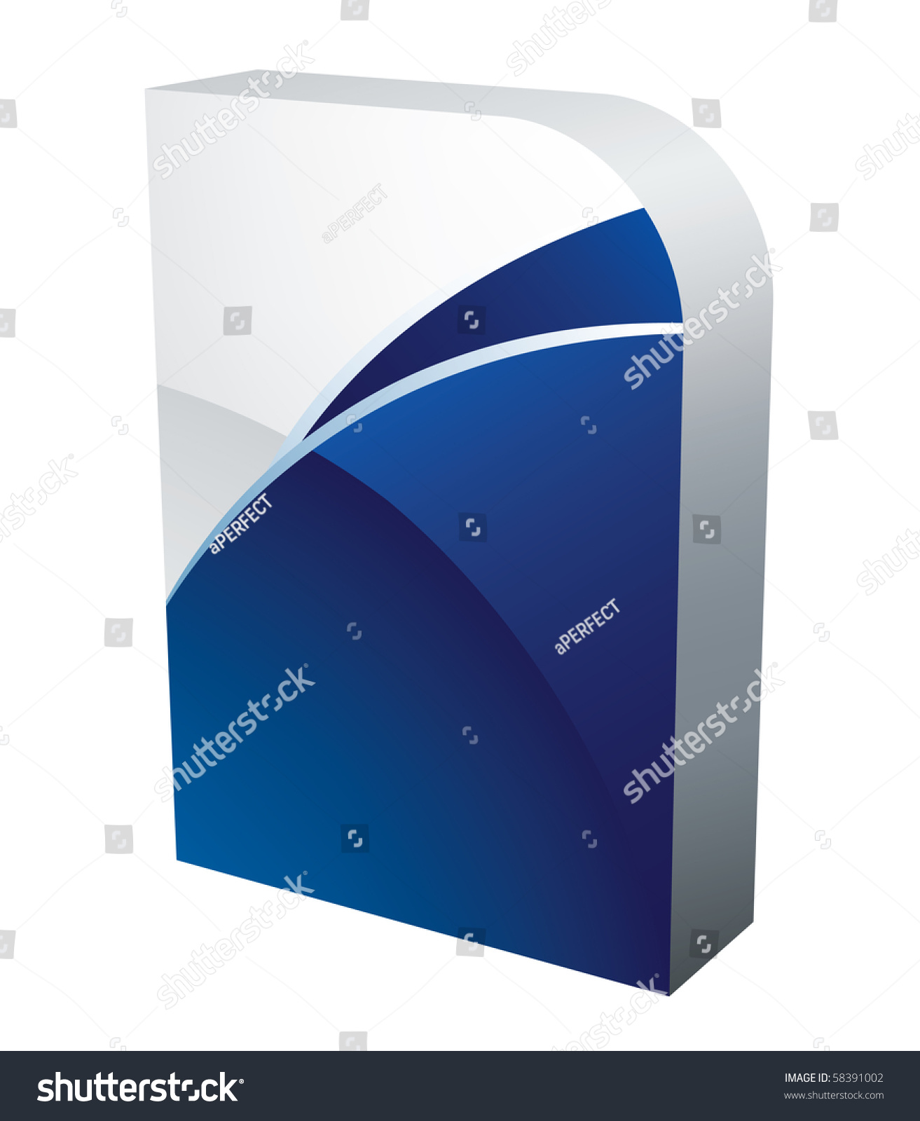Vector software box 58391002 shutterstock Vector image software