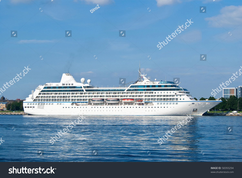 Big Cruise Ship Stock Photo Shutterstock - Big cruise ship