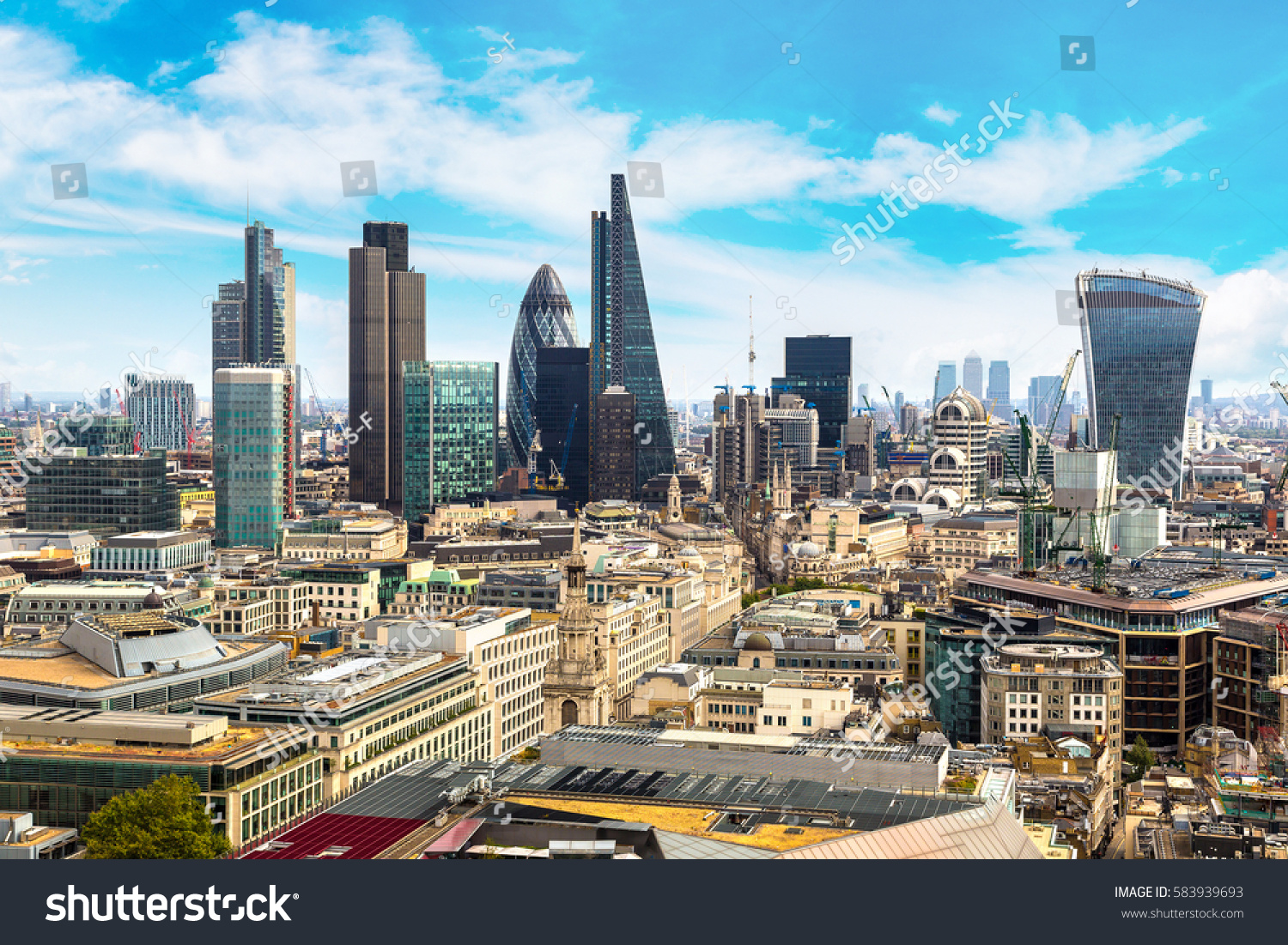 Uncategorized Panoramic Views Of London panoramic aerial view london skyscrapers financial stock photo of in the district england united kingdom