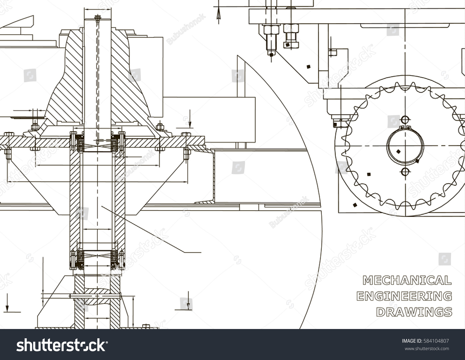 Blueprints mechanical engineering drawings cover banner for Engineering blueprints