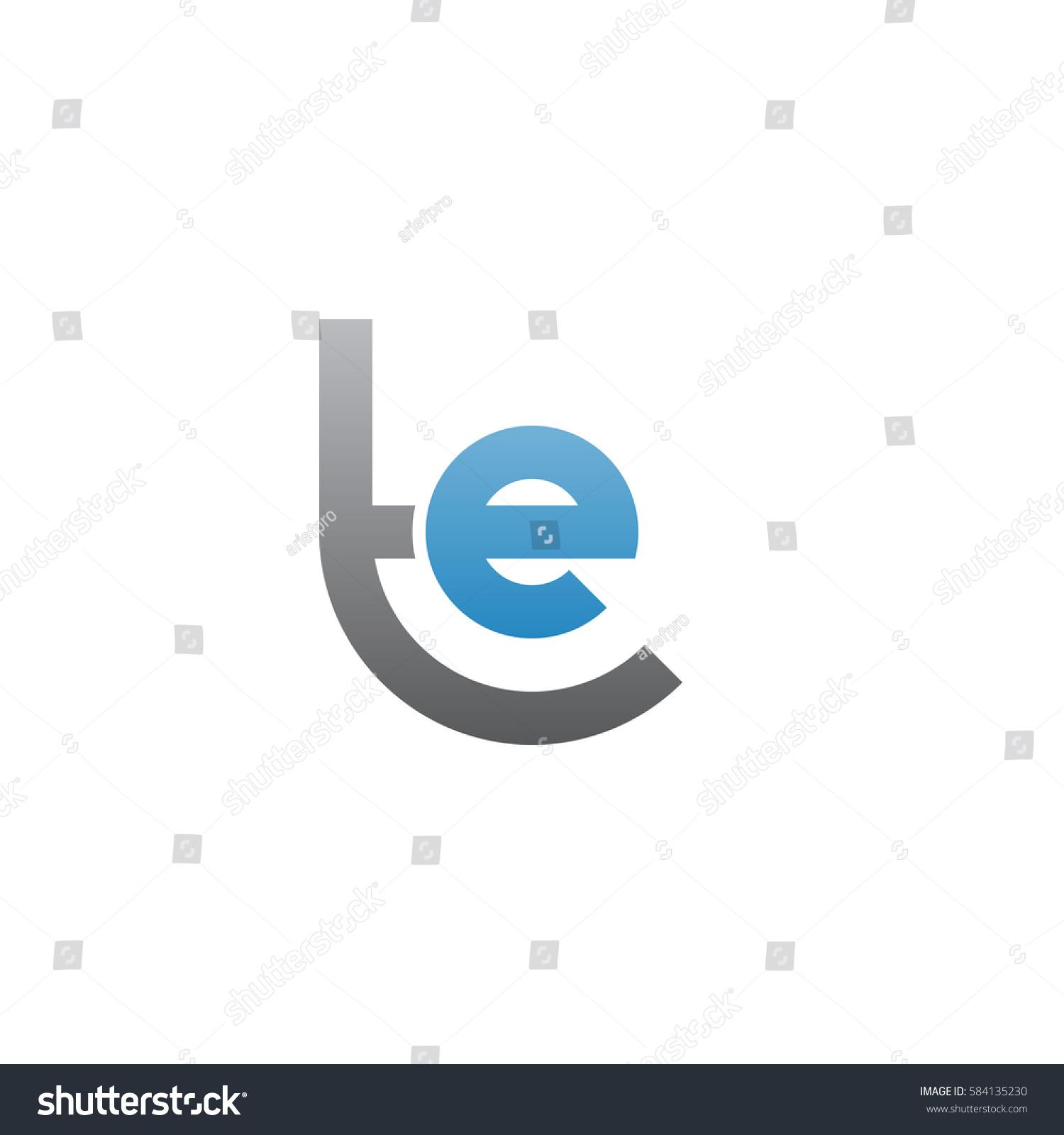 initial letter logo te et e stock vector 584135230 shutterstock