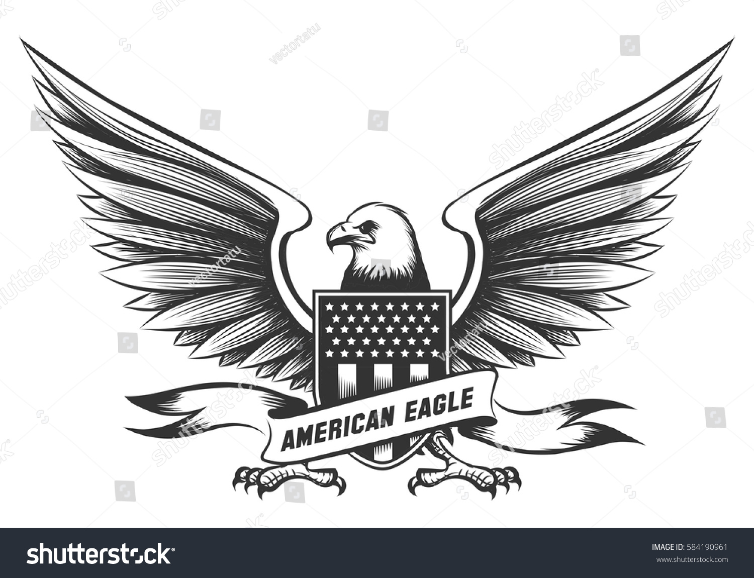 Native american eagle symbol tattoo images for tatouage native american eagle symbol tattoo throughout american bald eagle emblem badge shield stock vector 584190961 biocorpaavc Gallery