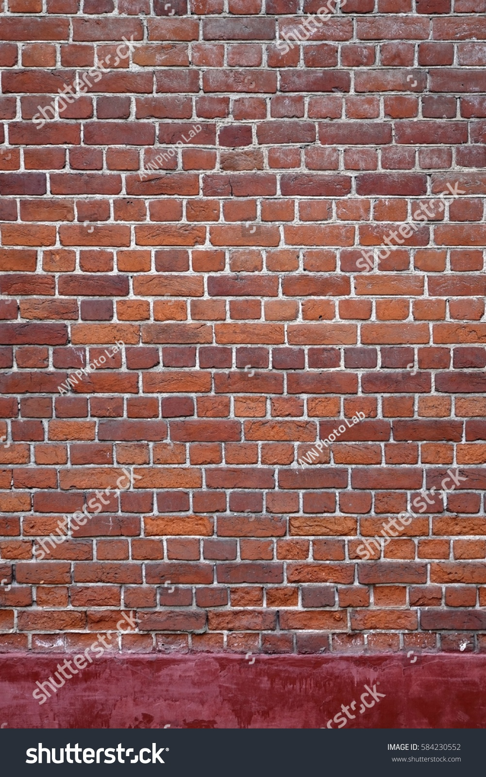 Old Vintage Distressed Red Brick Wall Stock Photo 584230552 Shutterstock