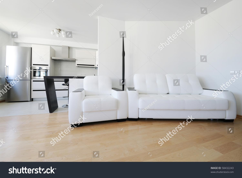 Modern Luxury Living Room Interior No Stock Photo (Royalty Free ...