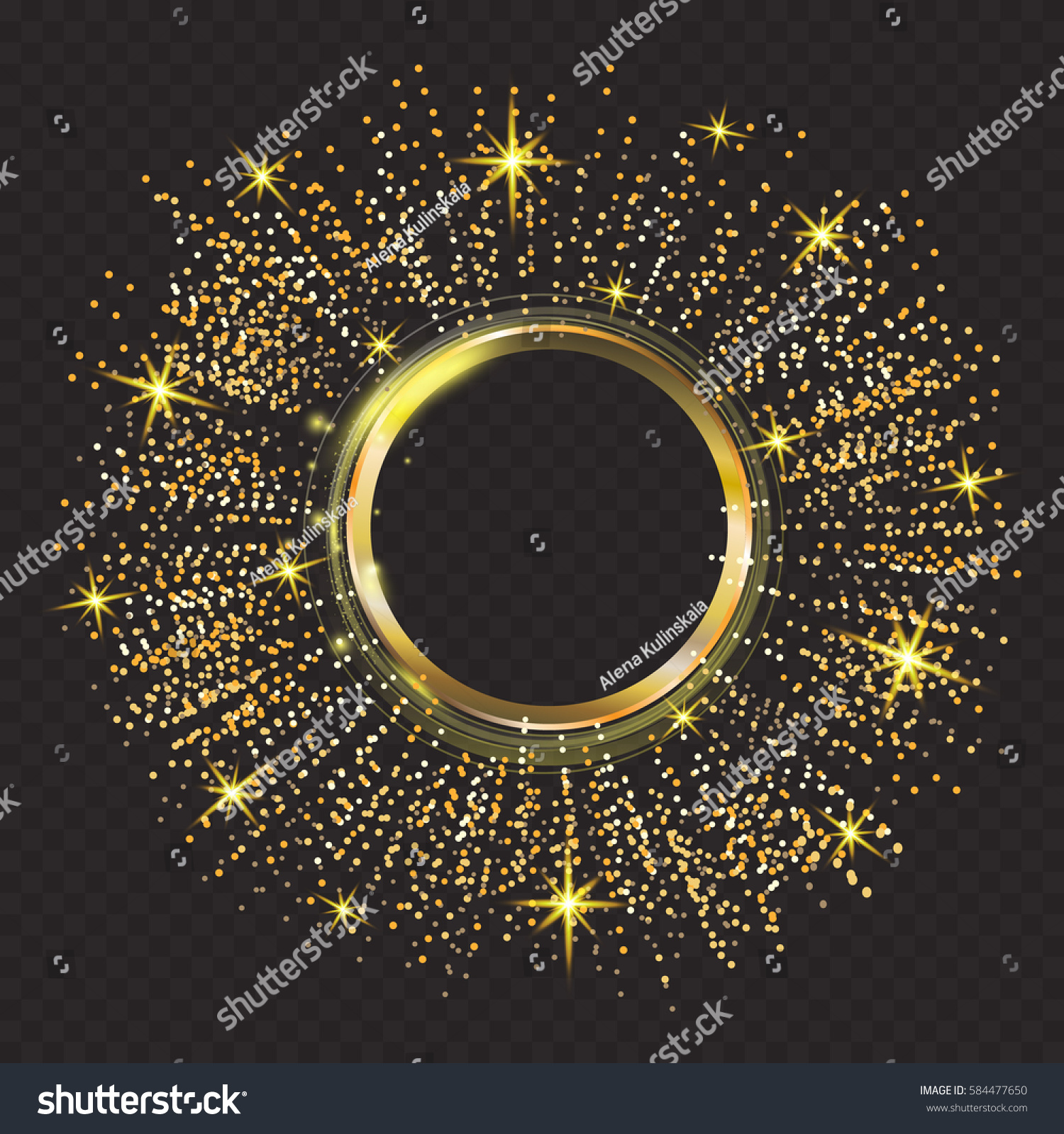 Gold glitter bright vector transparent background golden sparkles - Vector Gold Glitter Particles Background Effect Sparkling Texture Abstract Background Golden Sparkles On