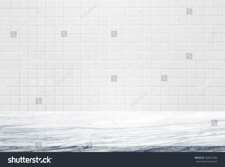 stone table top background white ceramic stock photo stone table top and background of white