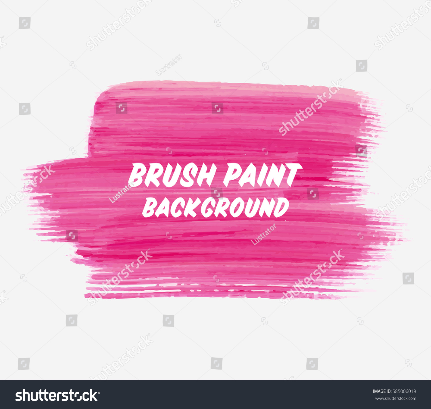 Logo Brush Painted Watercolor Background Abstract Stock ...