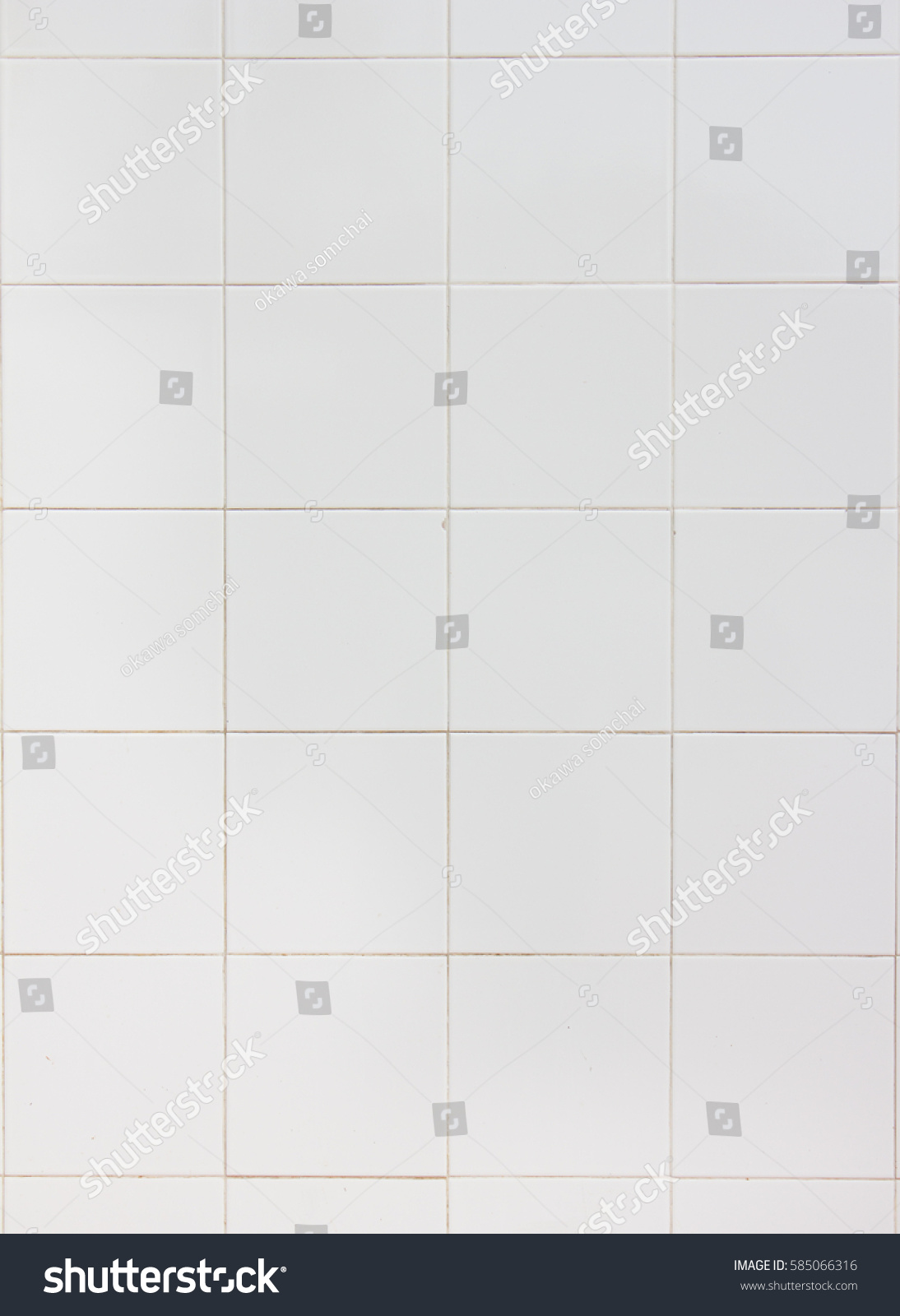 White ceramic wall tiles texture decoration stock photo 585066316 white ceramic wall tiles texture for the decoration of the bedroom dailygadgetfo Choice Image