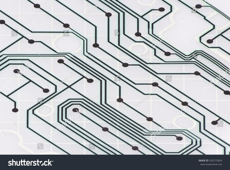 Print Circuit Board Keyboard Stock Illustration 585275834 Shutterstock Of