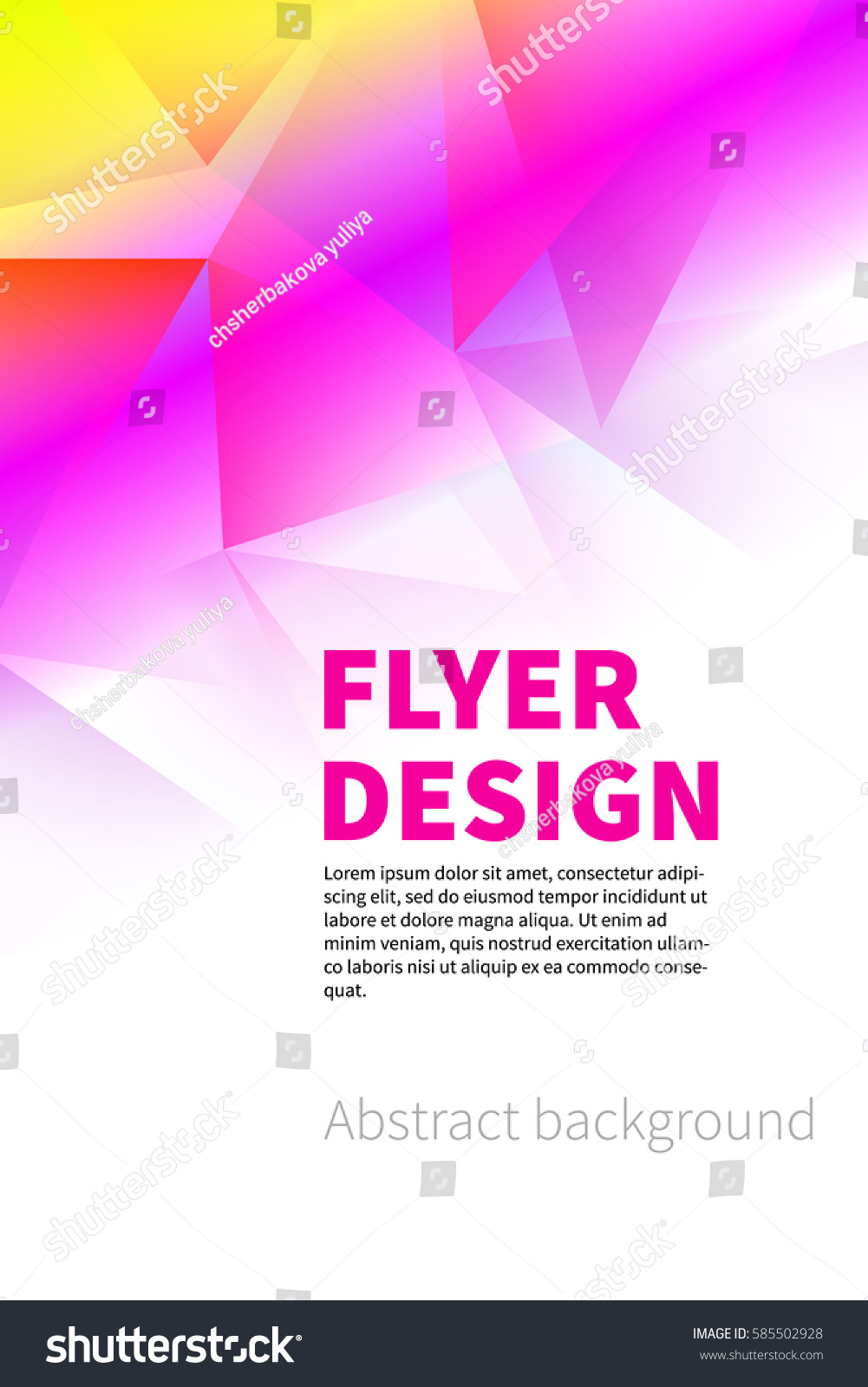 background for flyers