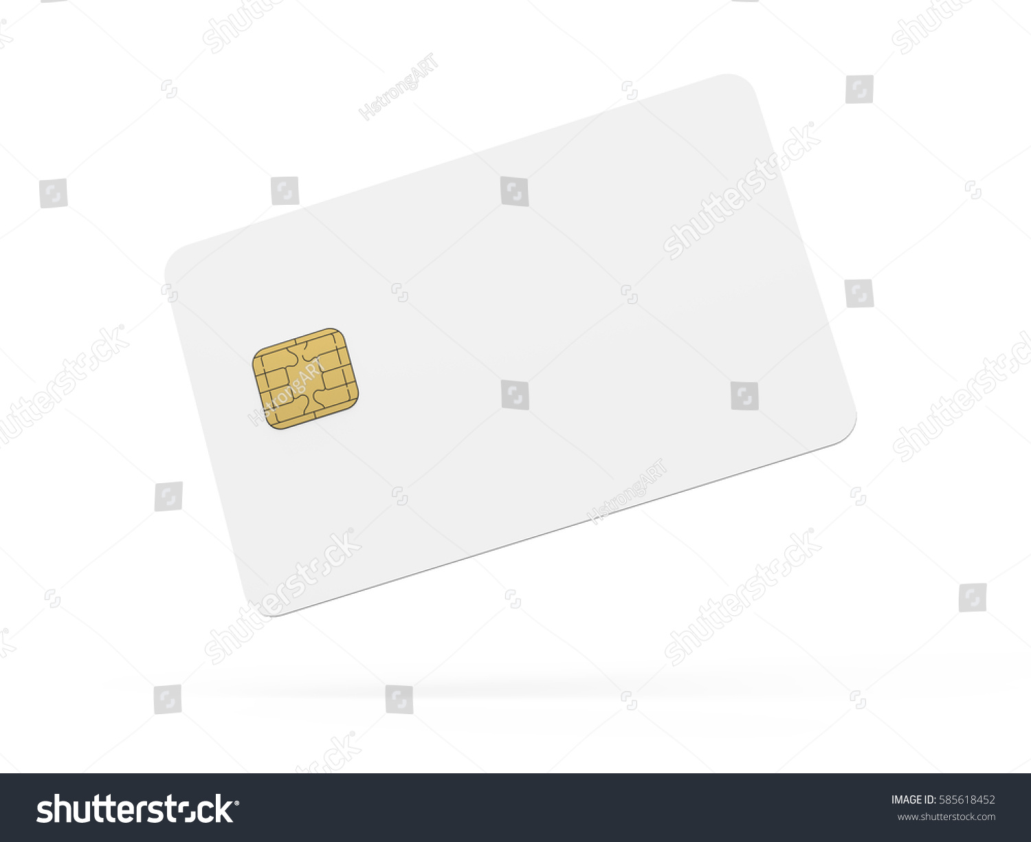blank credit card template