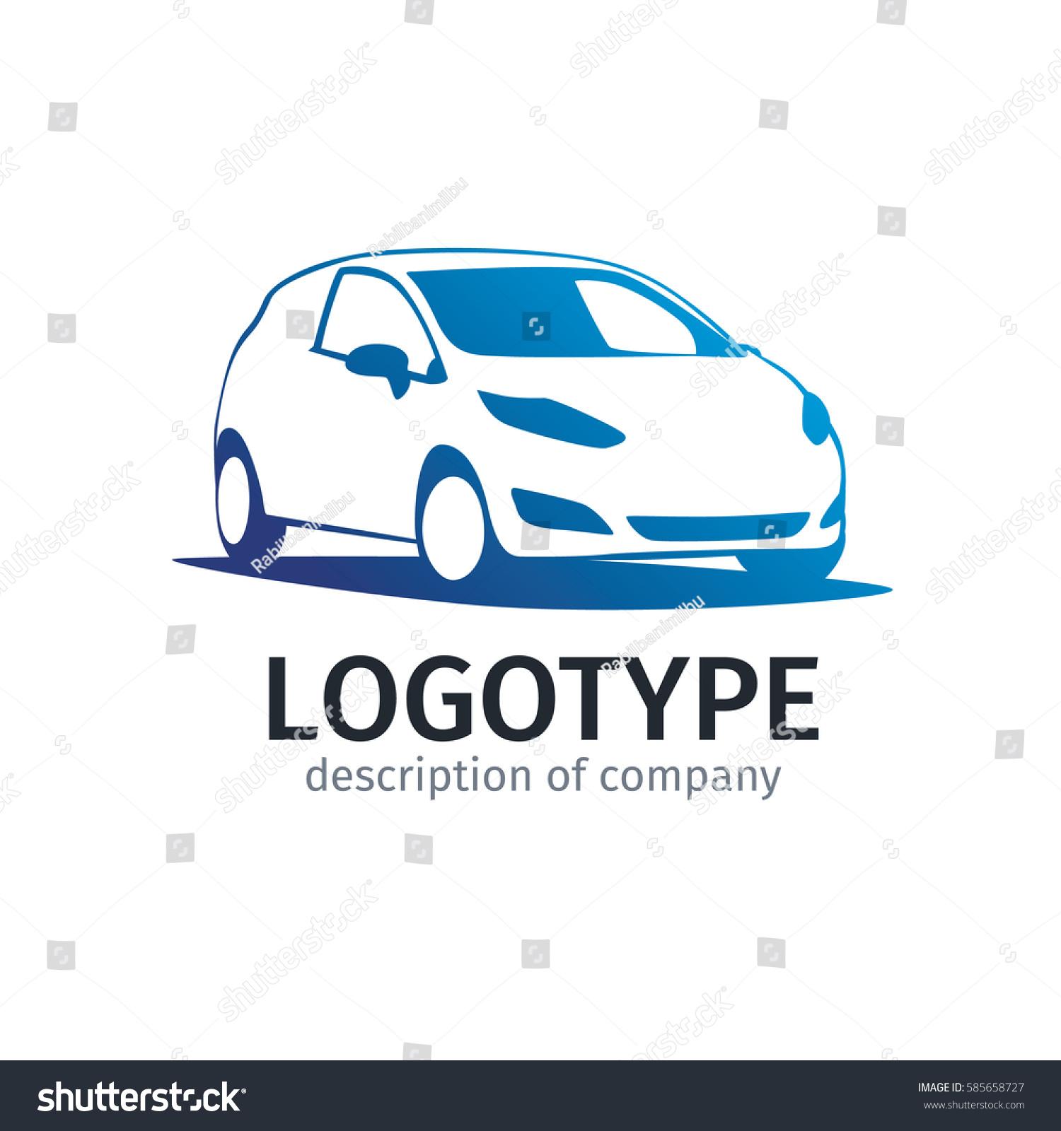 Car Repair Delivery Service Label Vector Stock Vector HD (Royalty ...