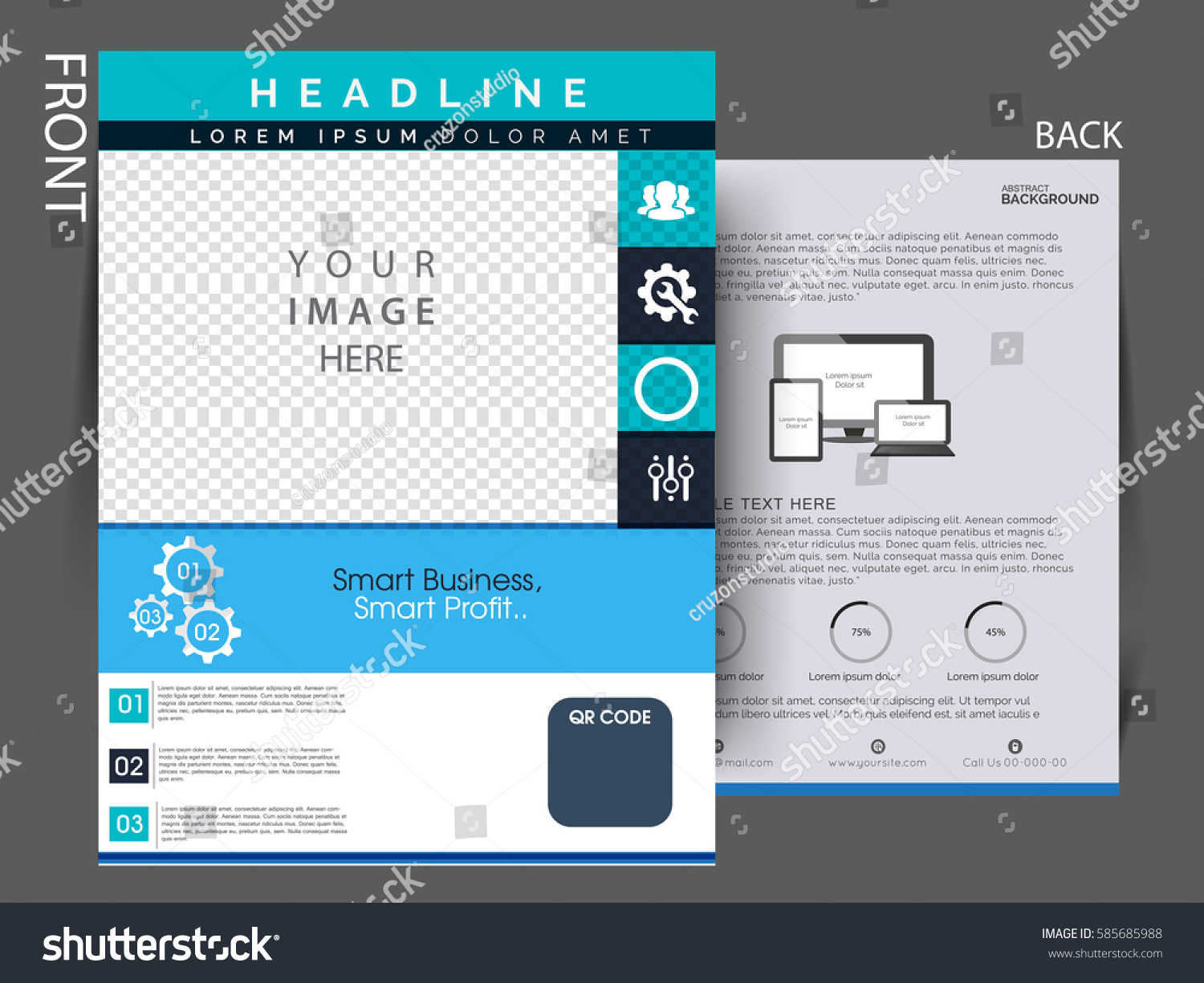 download corporate trifold brochure psd psddaddy com. travel ...