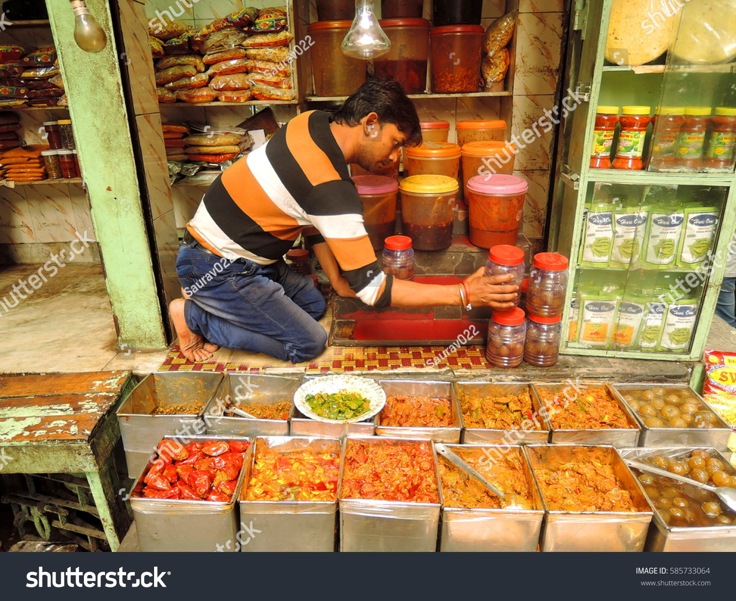 Man who sells atchar on the streets says his business has grown