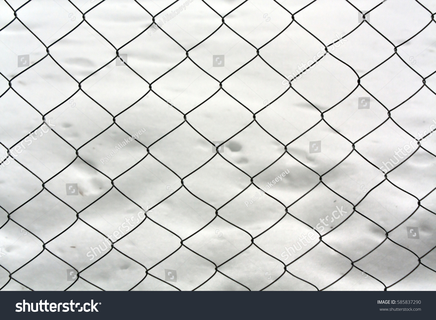 Steel mesh wire fence isolated on white background | EZ Canvas