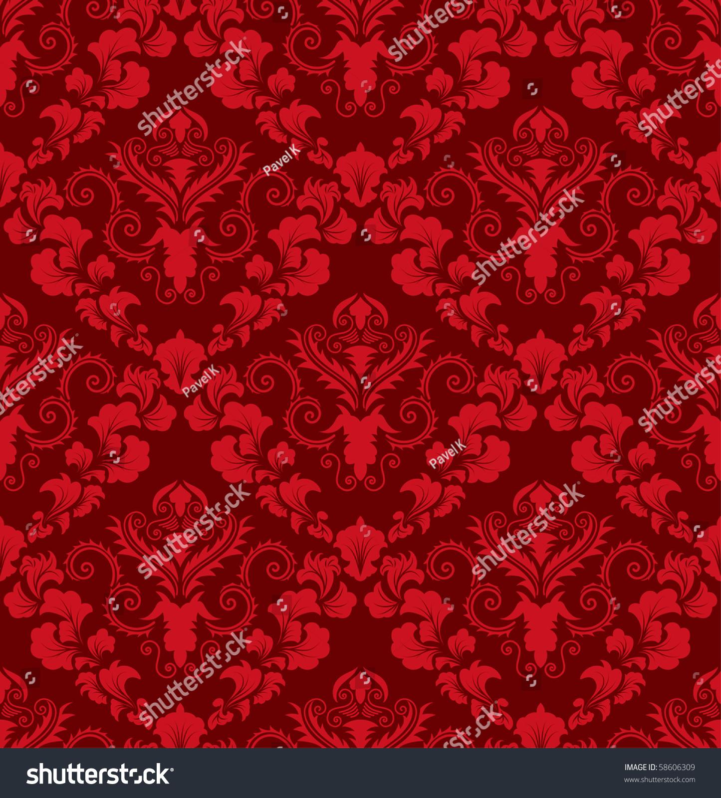 swirling royal pattern wallpaper - photo #23