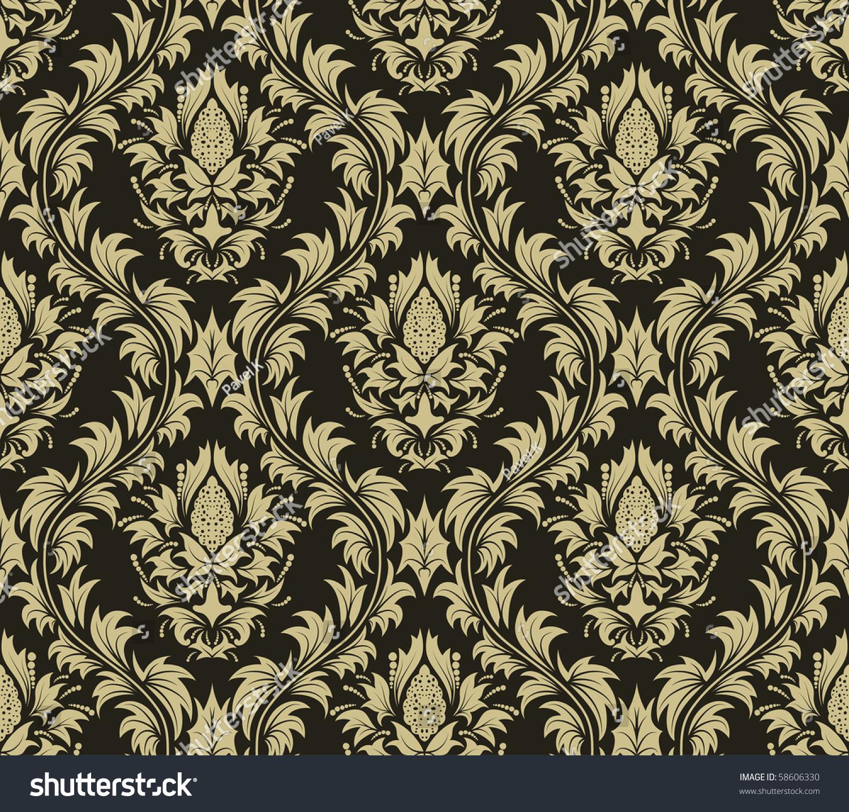 baroque print wallpaper - photo #41