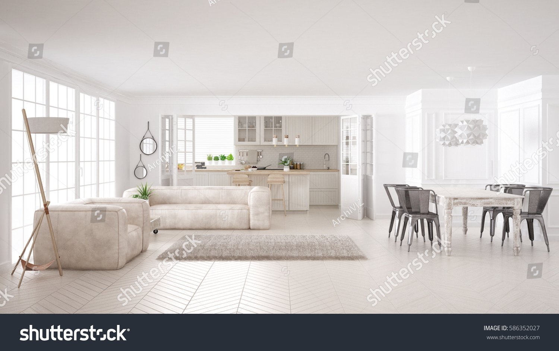 D Classic Interior Design Classic Living Room