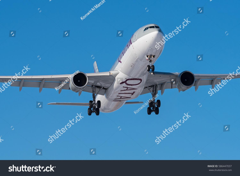 Aeroporto Waw : Warsaw poland february 10 qatar airways stock photo royalty free