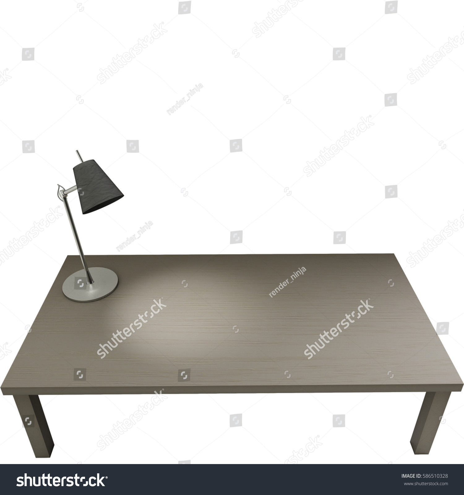 High quality table table lamp isolated stock illustration 586510328 high quality table with table lamp isolated on white background 3d render 3d illustration aloadofball Choice Image