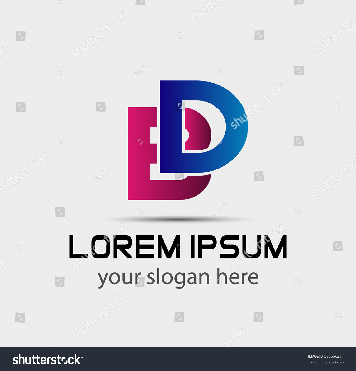 BDCOMPANY BD company linked letter logo