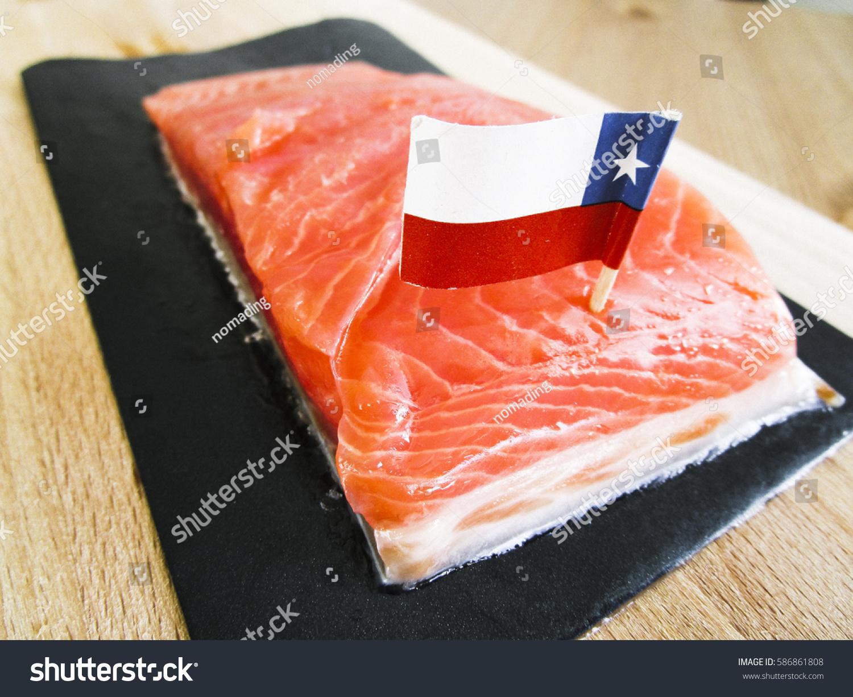 Chilean Salmon Stock Photo (Edit Now) 586861808