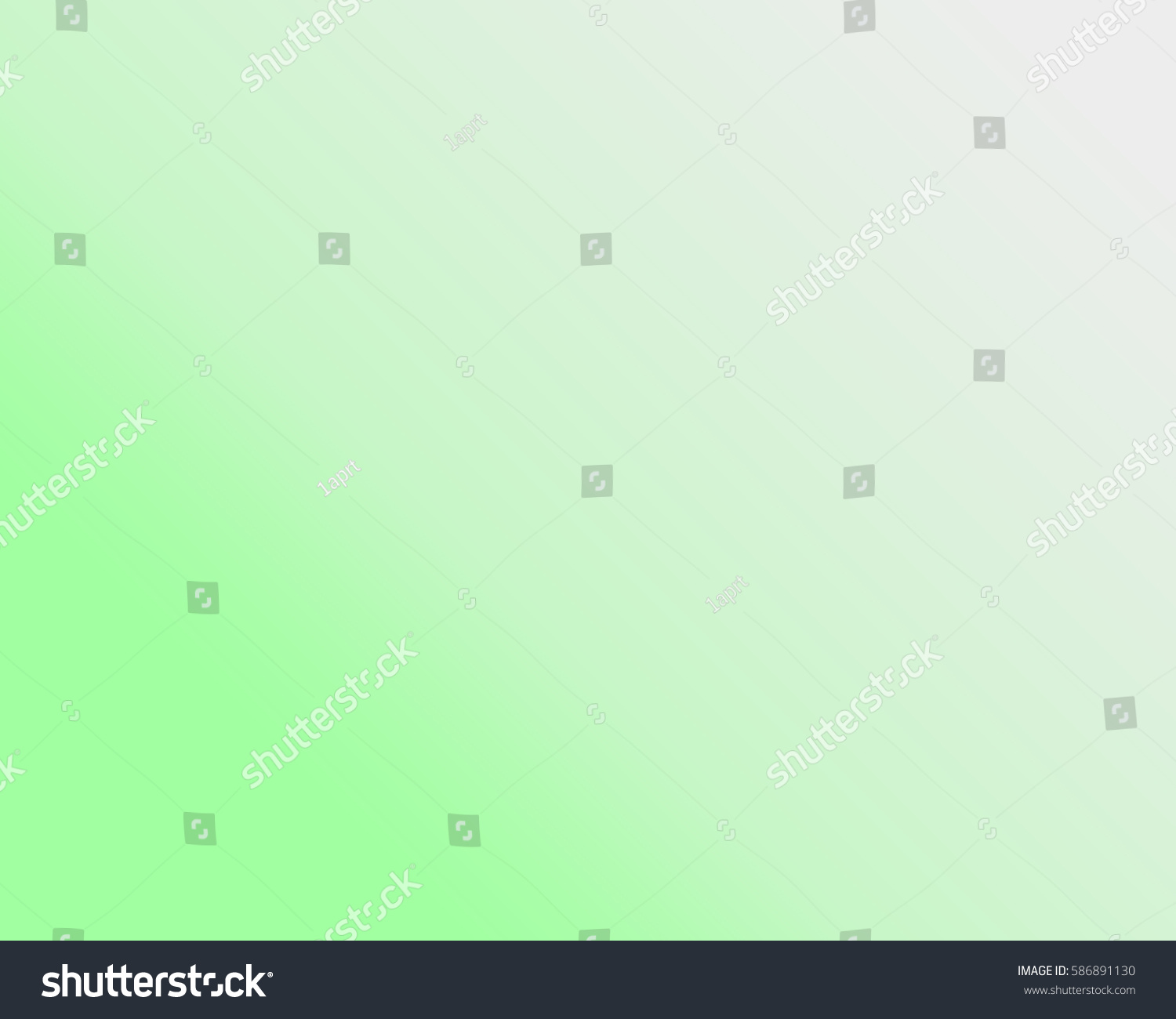 Abstract Blur Light Gradient Green Gray 586891130