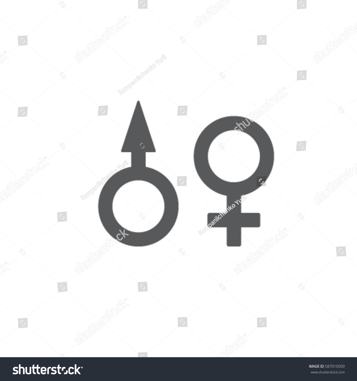 Gender Vector Icons Ez Canvas