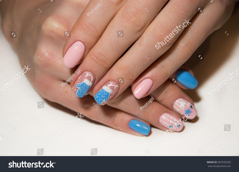 Nail Design Mittens Stock Photo (Edit Now)- Shutterstock