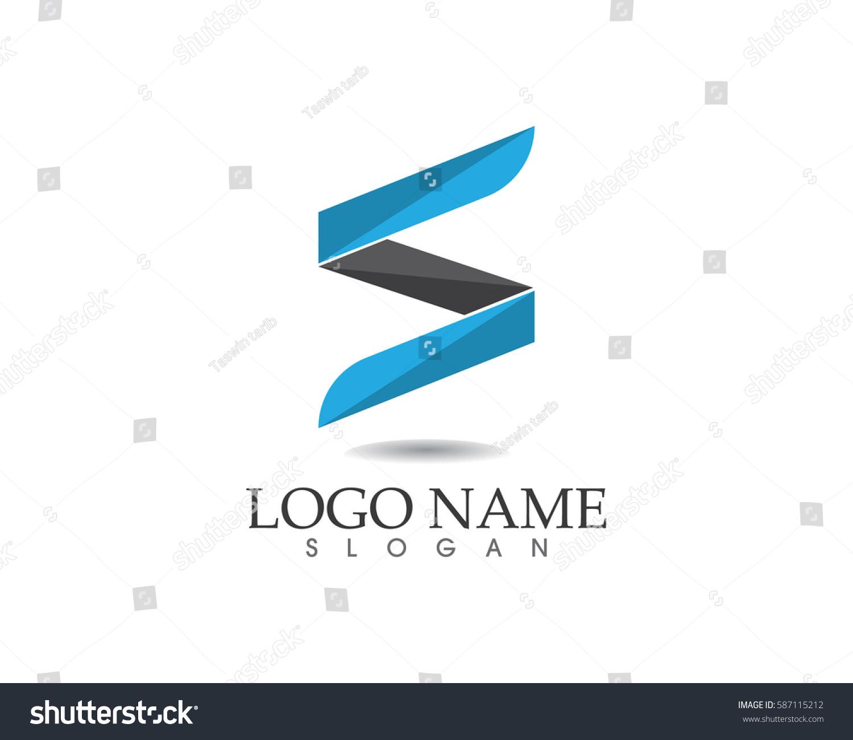 Business Corporate Letter S Logo Design Stock Vector
