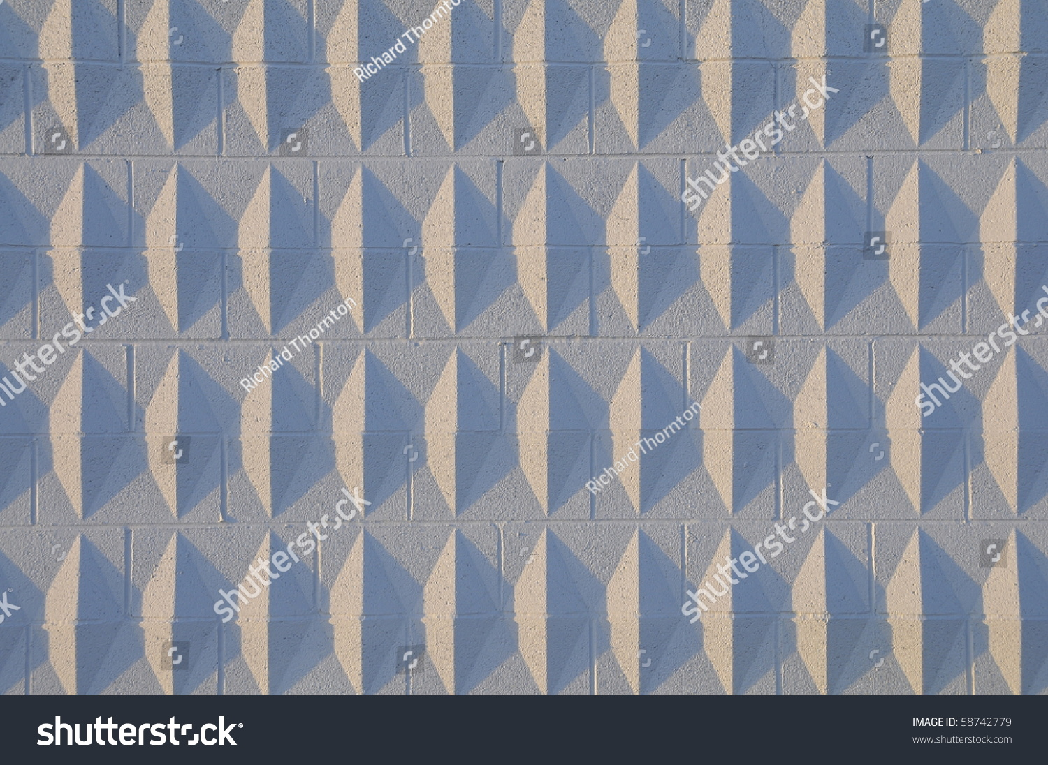 background texture or abstract decorative concrete block wall low contrast version - Decorative Concrete Block