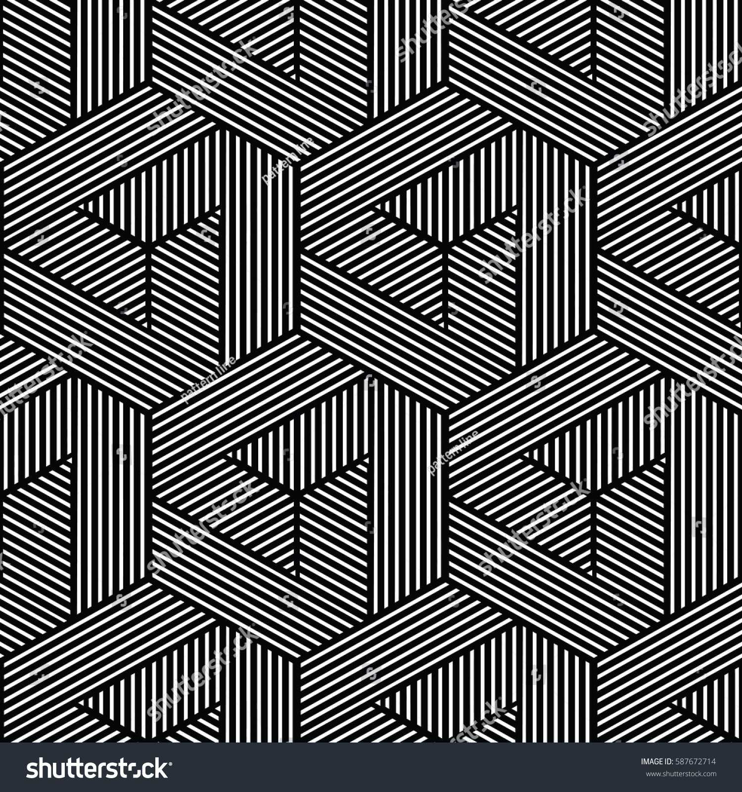 Line Texture Black And White : Black white patternbackground line geometricmodern stylish