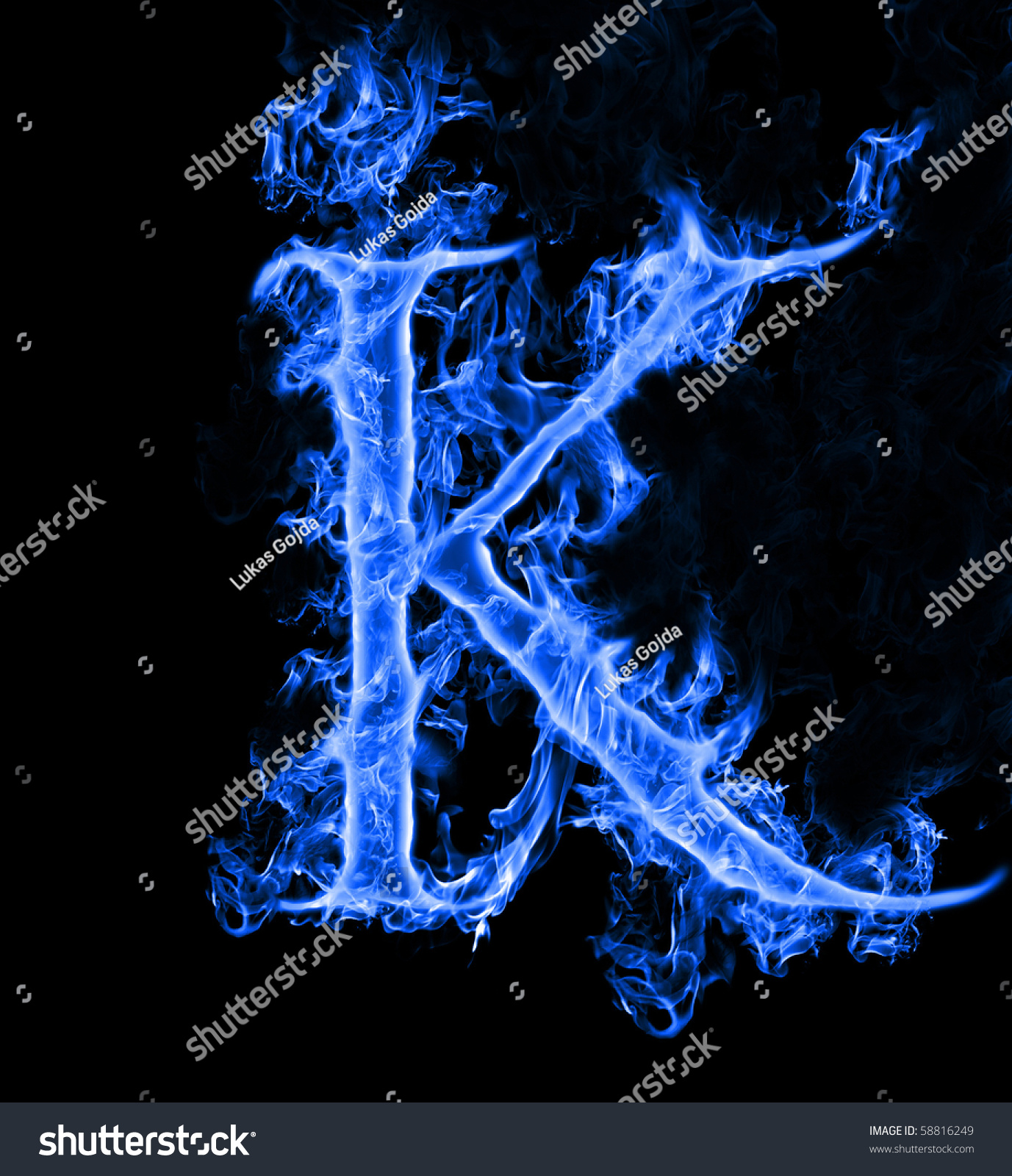 The Letter L In Blue Fire   www.imgkid.com - The Image Kid ...