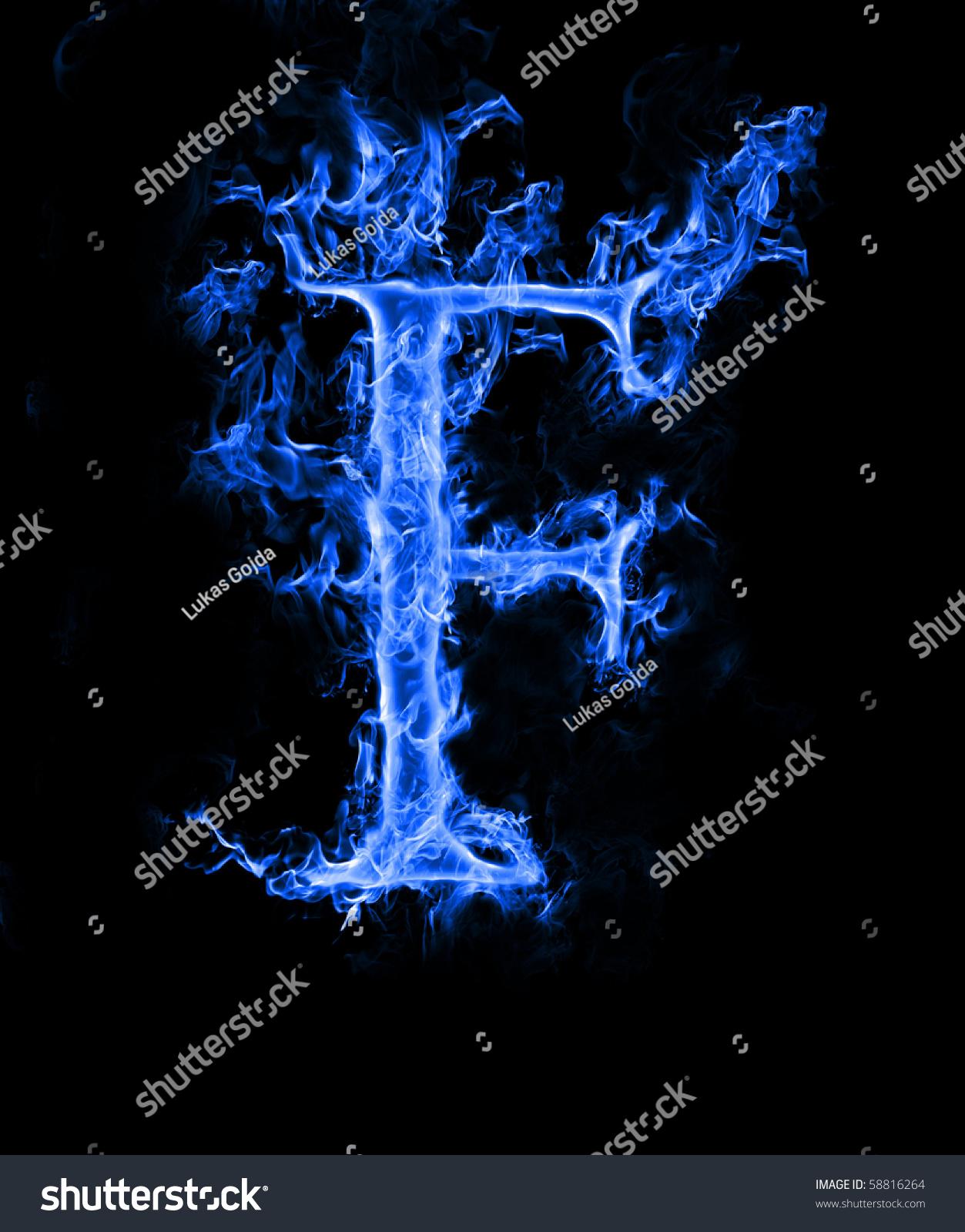 Letter S In Blue Fire   www.imgkid.com - The Image Kid Has It!