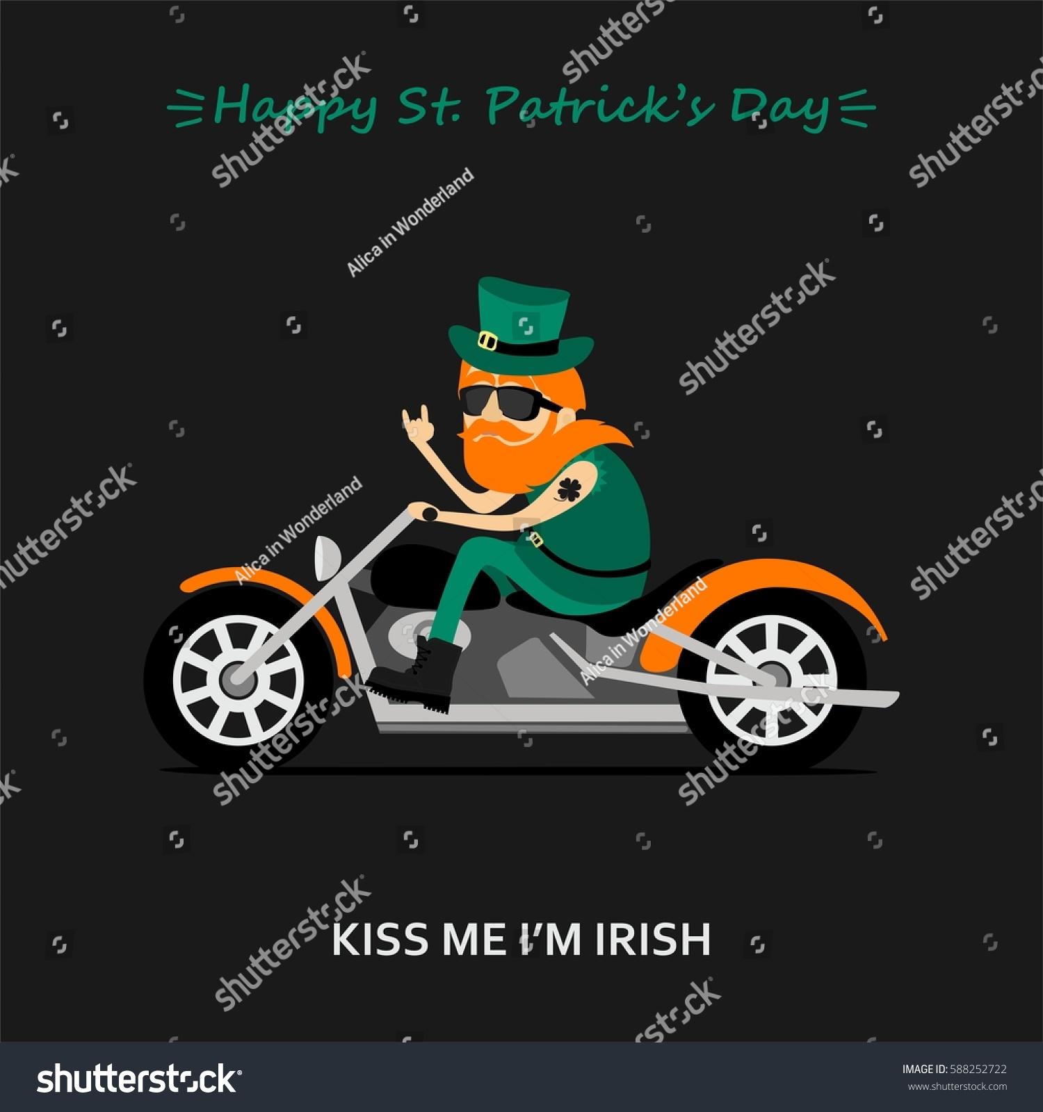 Iam A Rider Lambogini Song Download: St Patricks Day Greeting Card Banner Stock Vector