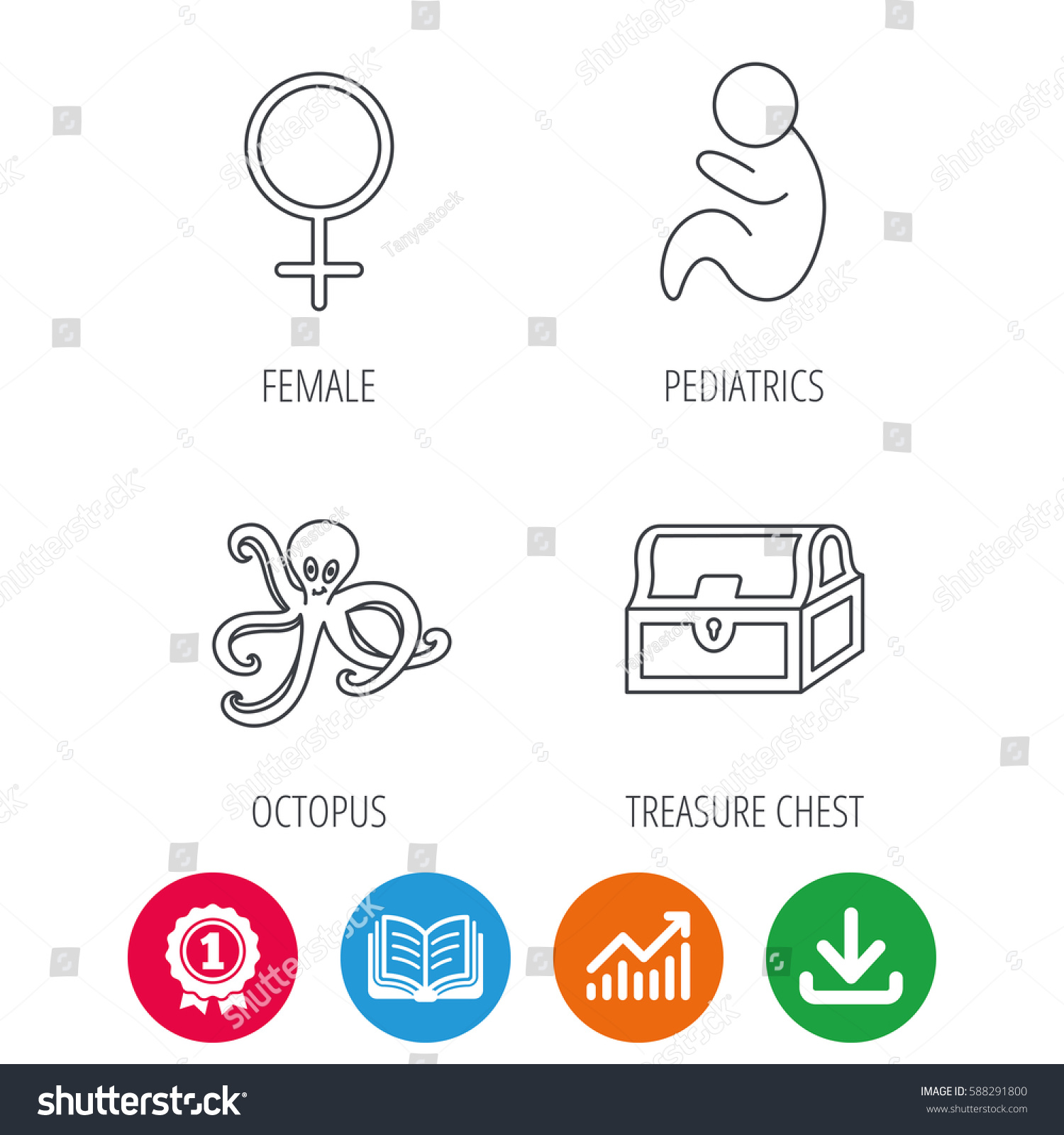 Female pediatric growth chart choice image free any chart examples female treasure chest pediatrics icons octopus stock vector female treasure chest pediatrics icons octopus stock vector nvjuhfo Gallery