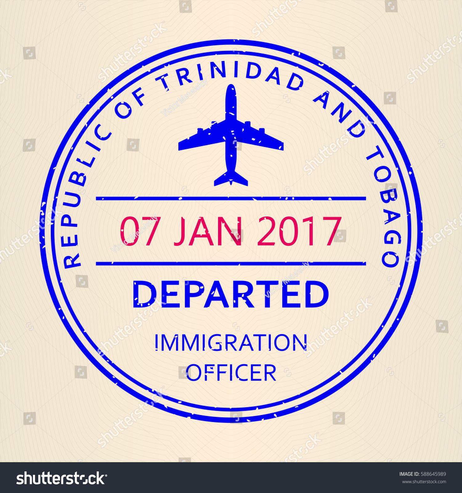 Passport stamp travel by plane visa stock vector 588645989 travel by plane visa or immigration stamp vector illustration biocorpaavc Choice Image