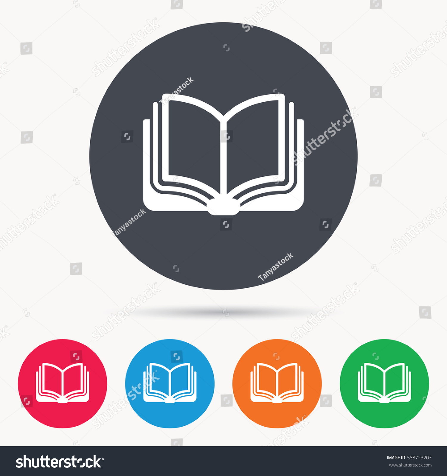 book icon study literature sign education stock illustration  book icon study literature sign education stock illustration 588723203 shutterstock