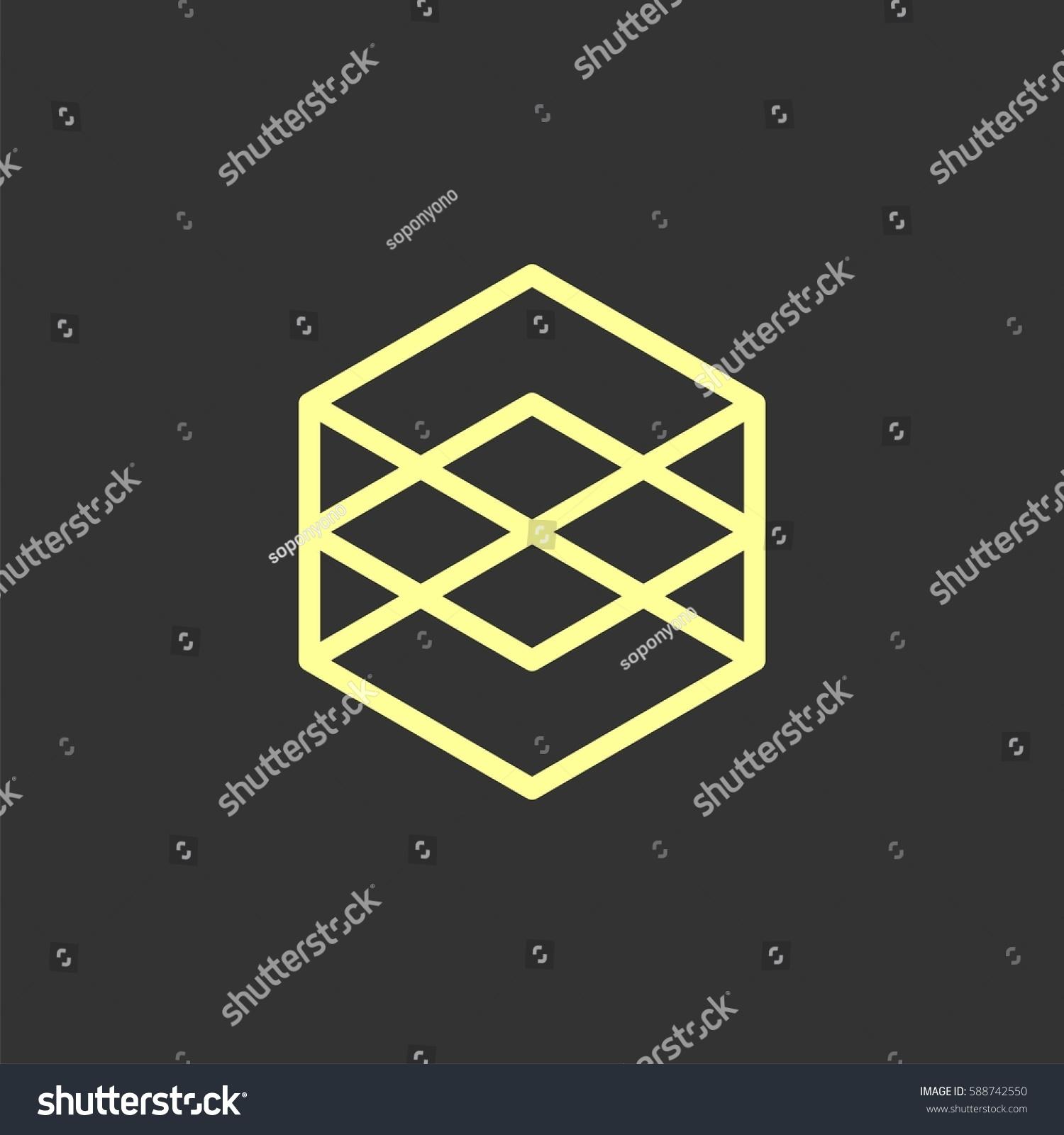 Single Hexagon Vector | www.imgkid.com - The Image Kid Has It!