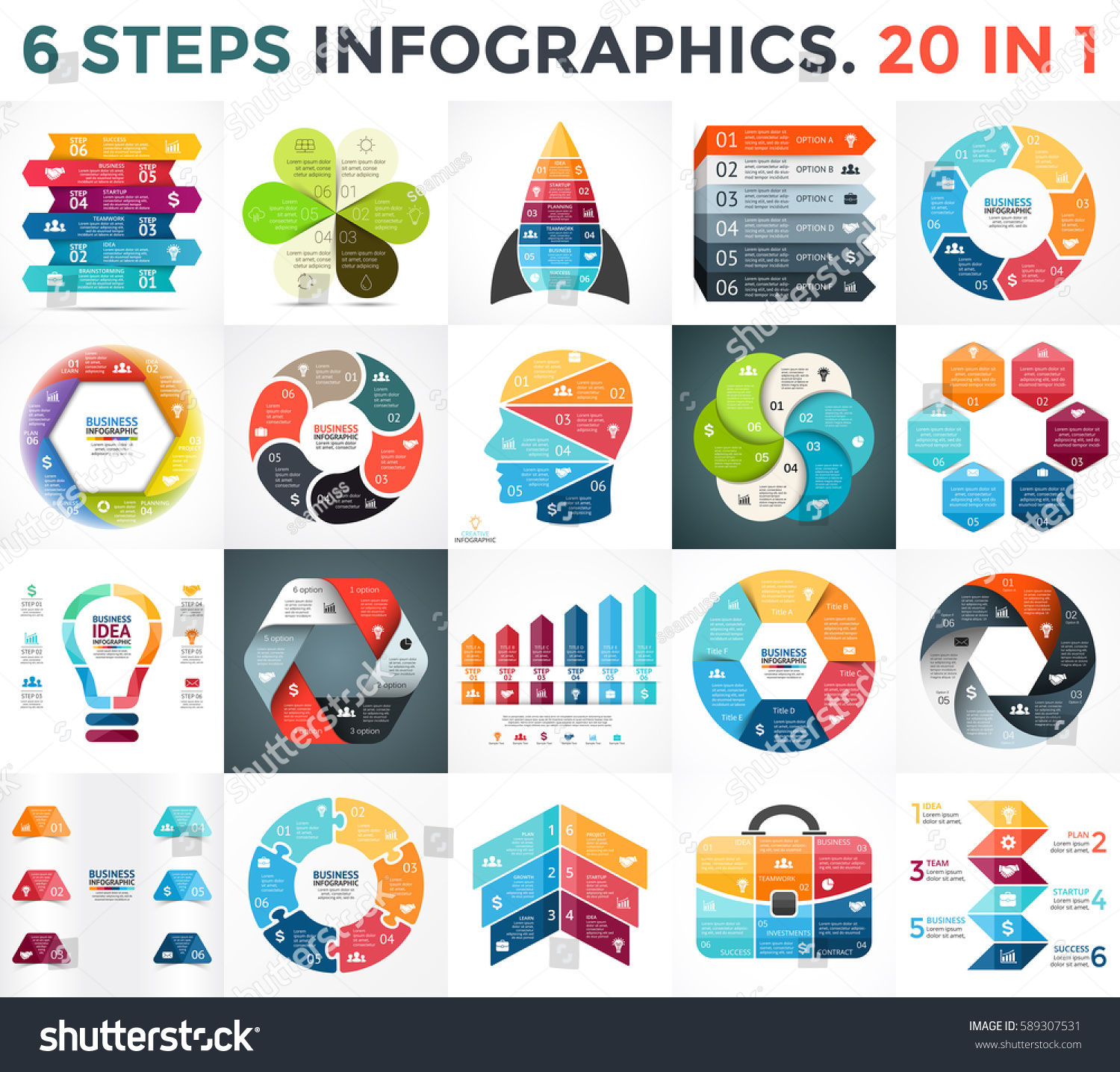 Process cycling arrow by arrow royalty free stock images image - Vector Circle Arrows Infographic Cycle Diagram Business Graph Presentation Chart 6 Options