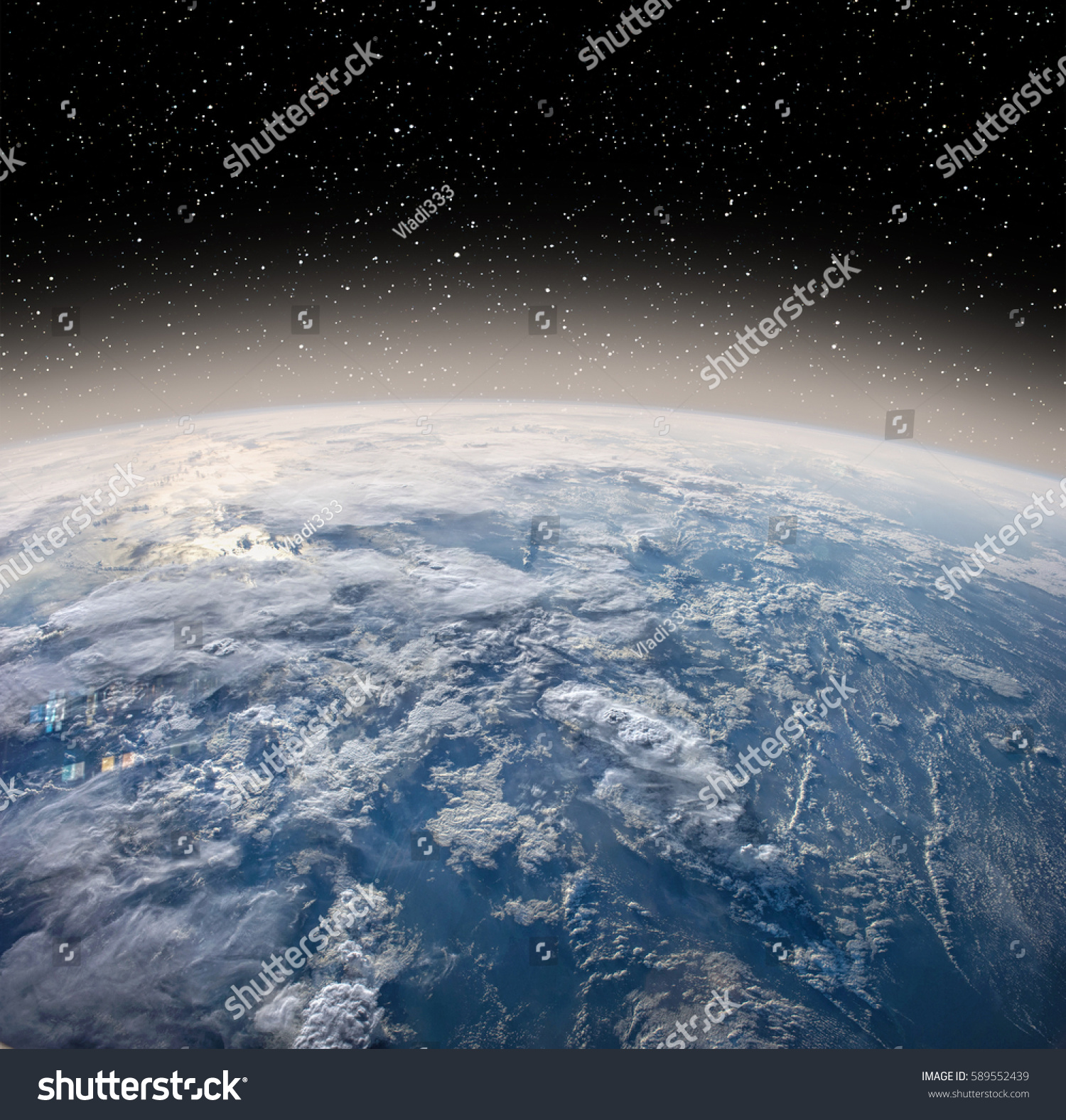 Earth Globe Deep Space Earth Space Stock Photo 589552439 ...