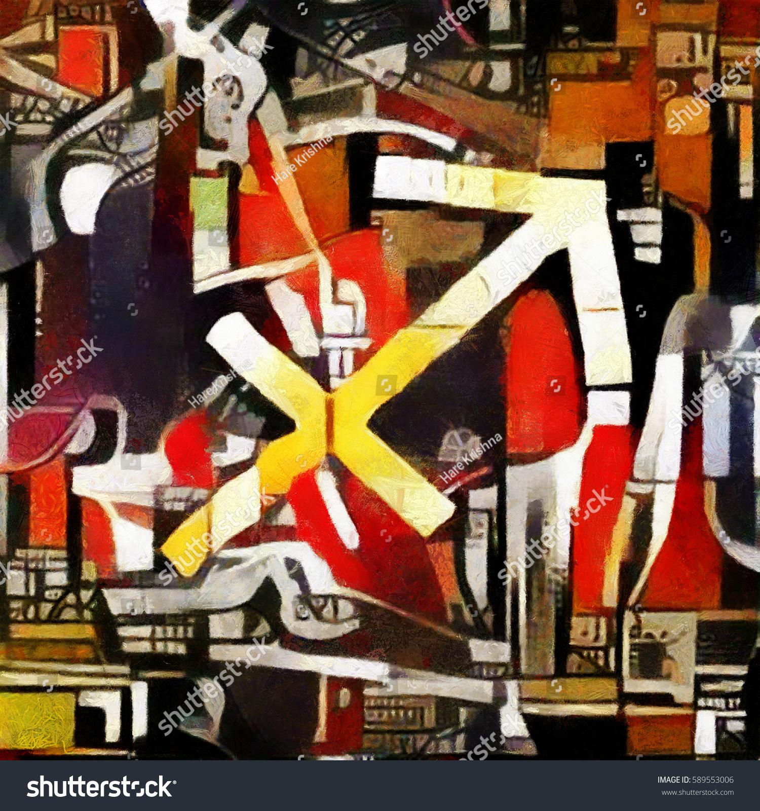 Sign Definition Symbol Constellations Zodiac Oil Stock Illustration